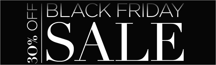 Black Friday Sale! Save 30% now