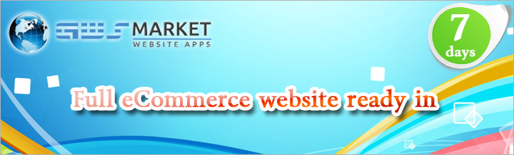 Get your eCommerce website up in 7 days