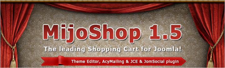 MijoShop 1.5 released, Theme Editor