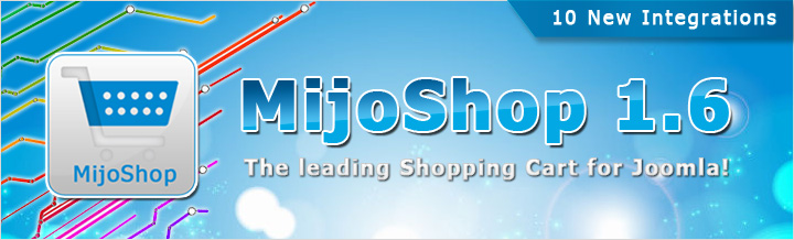 MijoShop 1.6 is out, New Integrations