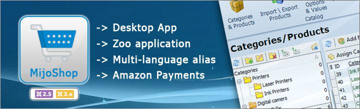 MijoShop 2.2 released, Desktop App