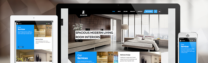 JA Decor - Responsive MijoShop template