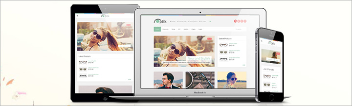Optik - Responsive Template for MijoShop 3